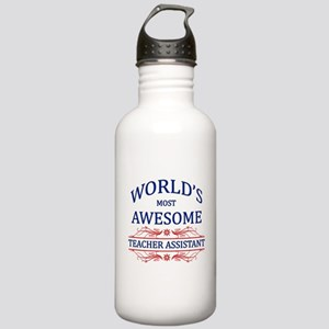 World's Most Awesome Teacher's Assistant Stainless