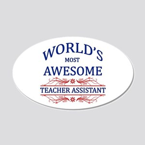 World's Most Awesome Teacher's Assistant 20x12 Ova