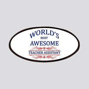 World's Most Awesome Teacher's Assistant Patches