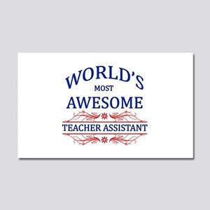 World's Most Awesome Teacher's Assistant Car Magne