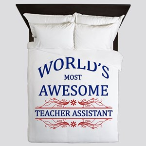 World's Most Awesome Teacher's Assistant Queen Duv