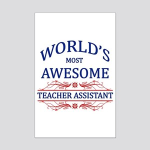 World's Most Awesome Teacher's Assistant Mini Post
