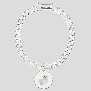 Maltese Charm Bracelet, One Charm