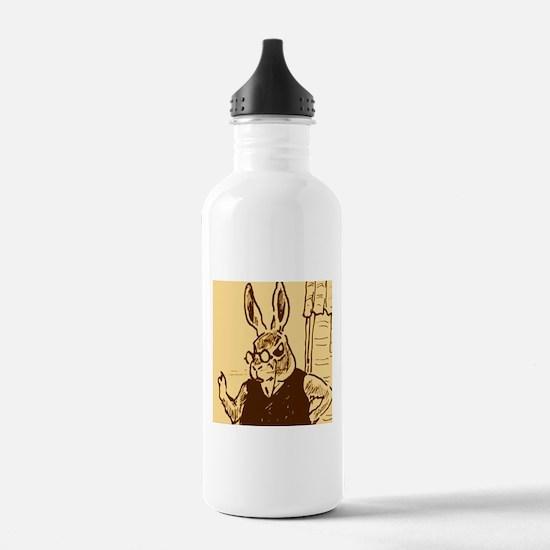 papa rabbit Water Bottle