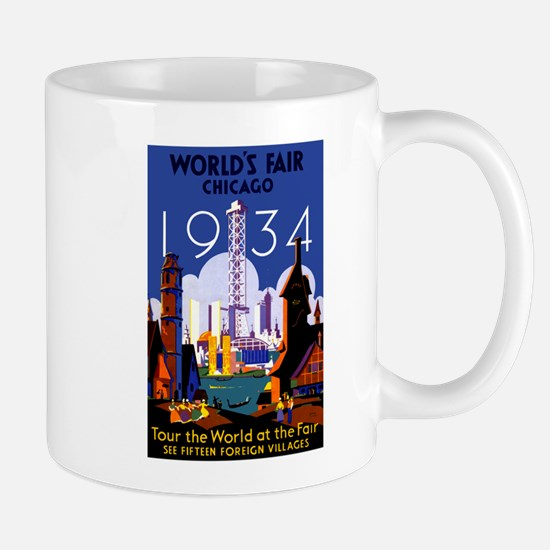 Chicago Worlds Fair 1934 Mug
