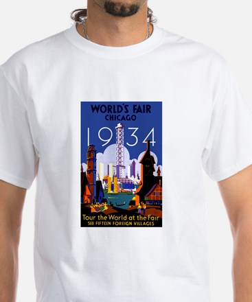 Chicago Worlds Fair 1934 T-Shirt