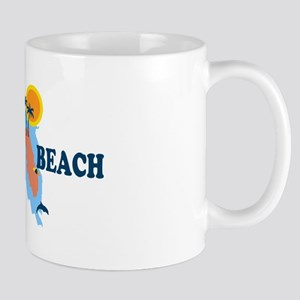 St. Pete Beach - Map Design. Mug