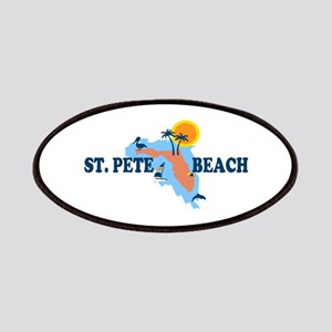 St. Pete Beach - Map Design. Patches