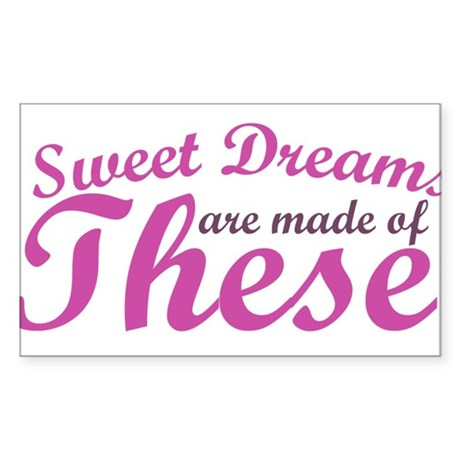 Sweet Dreams of BOOBS Sticker