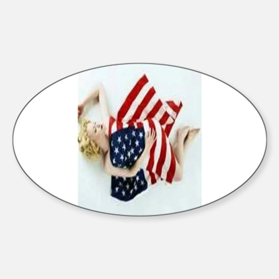 4 military Pin Ups Decal