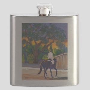 Sunset Schooling Flask