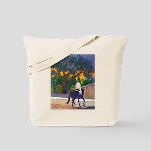 Sunset Schooling Tote Bag