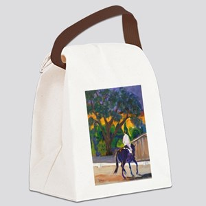 Sunset Schooling Canvas Lunch Bag