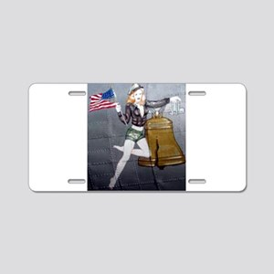 1 Military Pin Ups Aluminum License Plate