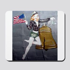 1 Military Pin Ups Mousepad