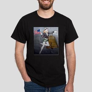 1 Military Pin Ups T-Shirt