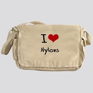 I Love Nylons Messenger Bag