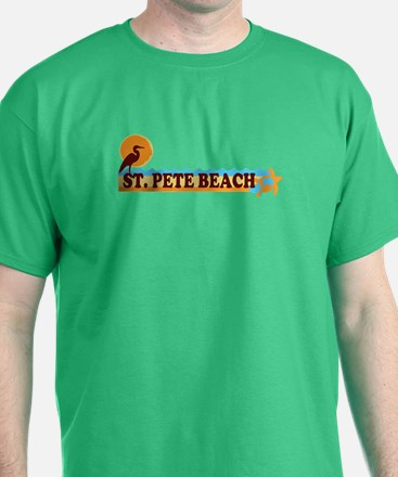 St. Pete Beach - Beach Design. T-Shirt