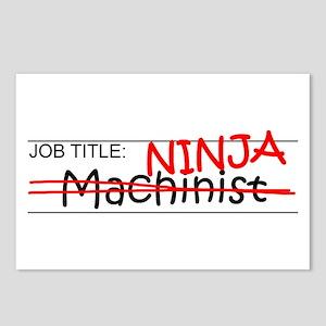 Job Ninja Machinist Postcards (Package of 8)
