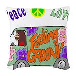 Groovy Van Woven Throw Pillow