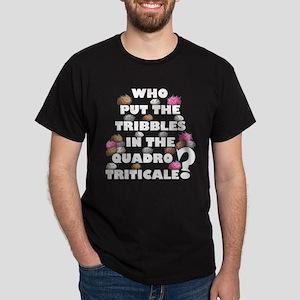 2 Sided Tribble Dark T-Shirt