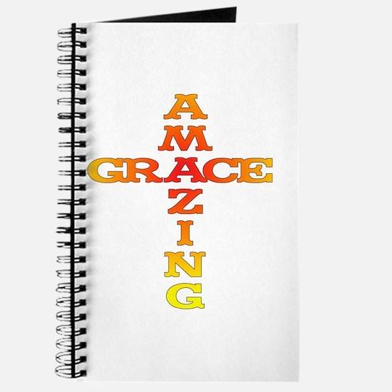 Amazing Grace cross Journal