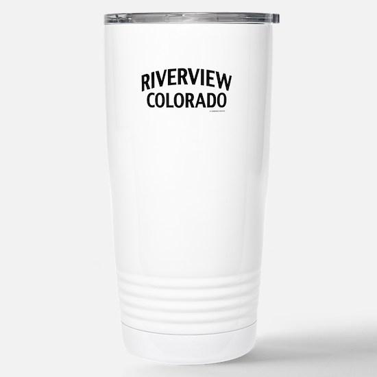 Riverview Colorado Travel Mug