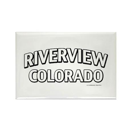 Riverview Colorado Rectangle Magnet