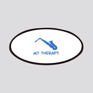 Saxophone my therapy Patches
