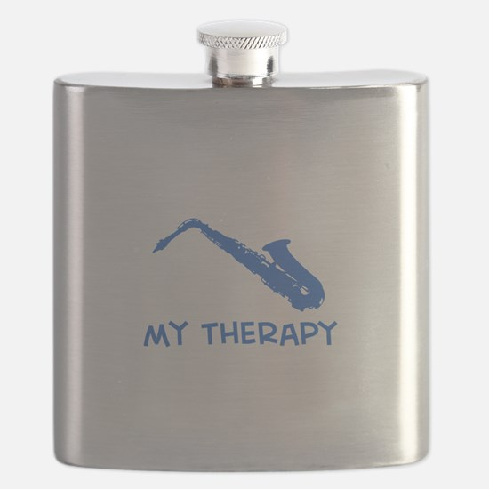 Saxophone my therapy Flask