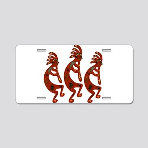 Lizard Kokopelli Aluminum License Plate