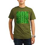 Royal Hawaiian Palms Print Organic Men's T-Shirt (