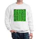 Royal Hawaiian Palms Print Sweatshirt