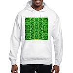 Royal Hawaiian Palms Print Hooded Sweatshirt