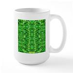 Royal Hawaiian Palms Print Large Mug