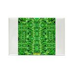 Royal Hawaiian Palms Print Rectangle Magnet (10 pa