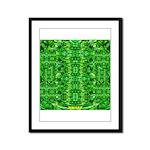 Royal Hawaiian Palms Print Framed Panel Print