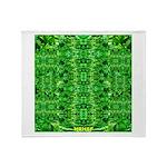 Royal Hawaiian Palms Print Throw Blanket