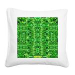 Royal Hawaiian Palms Print Square Canvas Pillow