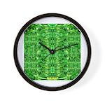 Royal Hawaiian Palms Print Wall Clock
