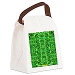 Royal Hawaiian Palms Print Canvas Lunch Bag