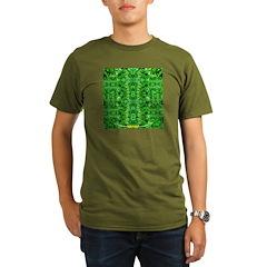 Royal Hawaiian Palms Print T-Shirt