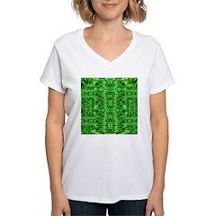 Royal Hawaiian Palms Print Shirt