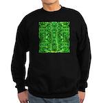 Royal Hawaiian Palms Print Sweatshirt (dark)