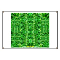 Royal Hawaiian Palms Print Banner