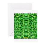 Royal Hawaiian Palms Print Greeting Card