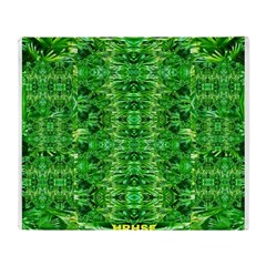 Royal Hawaiian Palms Print Throw Blanket
