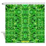 Royal Hawaiian Palms Print Shower Curtain
