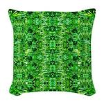 Royal Hawaiian Palms Print Woven Throw Pillow