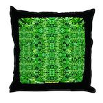 Royal Hawaiian Palms Print Throw Pillow